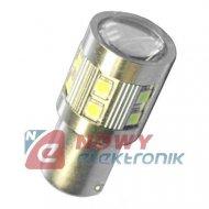 Dioda LED BA15S  W 12V 1156