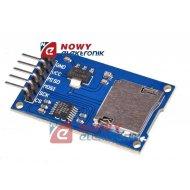 Moduł czytnik kart pam. micro SD LVC125 do ARDUINO/KLON