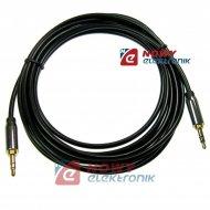 Kabel jack 3,5st wt.-wt.3m  HQ Wysoka jakość NEPOWER