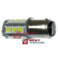 Dioda LED BA15D 18SMD5050 Biała 12V