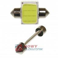 Dioda LED C5W 31mm COB-LED Biała 12V