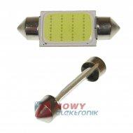 Dioda LED C5W 36mm COB-LED Biała 12V