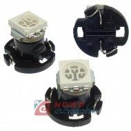 Dioda LED T4.2 1SMD5050 Zielona 12V MF14