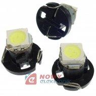 Dioda LED T4.2 1SMD5050 Biała 12V MF14