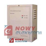 Zasilacz buforowy ZA6.5 (7Ah) UPS alarmowy 12V 1.8A (+3A 30min.max)