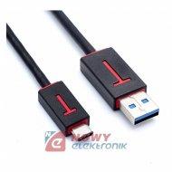 Kabel wt.USB-wt.USB-C 3.0   0,2m NEPOWER adapter  TYPE-C