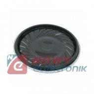 Głośnik YD-20 20mm 0,5W 8Ω Plastik miniaturowy h-4mm