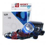 Latarka czołowa IL09 CREE lampa z zoom 800 Lumen 4xAA M-Tech