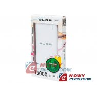 PowerBank 15000mAh BLOW PB16C 2xUSB TYP A 5V/2A +USB-C 5V/3A QC
