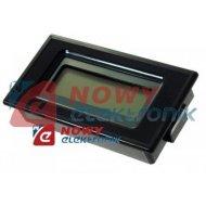 Miernik tablicowy voltom./amper. LCD podśw. 3,5 cyfry