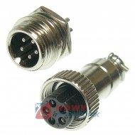 Złącze przem. DS-11-10-01-5B6 (wt+gn)  przemysłowe MINI