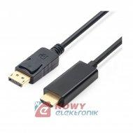 Kabel Displayport / HDMI wt.1,8m NEPOWER /przejście /adaptor/