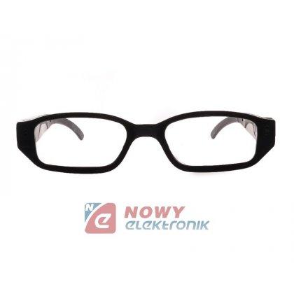 Kamera w okularach 1080P szpieg. Okulary szpiegowskie z kamerą