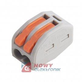 Szybkozłączka 2-tor drut/linka  10szt. zacisk złączka elektryczna