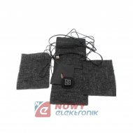 Mata grzewcza 3szt. USB 5V tkanina z włókna węglowego