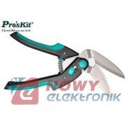 Nożyce uniwersalne wygięte SR339 PROSKIT