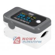 Pulsoksymetr napalcowy PX50 Tętno, pomiar natlenienia krwi