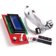 Panel kontrolny 2004 LCD dla RAMPS 1.4 z czytnikiem kart SD