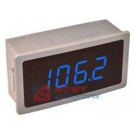 Termometr panelowy LCD W1240 BLUE DS18B20 niebieski