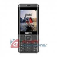 Telefon GSM MAXCOM MM236 SIM    srebny