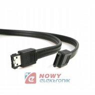 Przejście eSATA - SATA adapter E-SATA-SATA na kablu