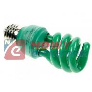 Świetlówka Zielona  E27 13W 240V żarówka VELLEMAN