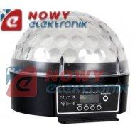 Efekt LED ZIRCON 6x3W Świetlny VELLEMAN DMX-Controlled