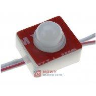 Moduł LED PIXEL XL 12mm czerwony smd5050 12VDC 0,25W IP68
