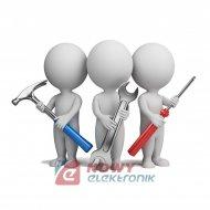 Usługa serwisowa podłączenie złączy: 1-1,2-2,3-3,4-4,5-5,6-6