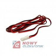 Złącze 2-stykowe DC kpl.z przew. szybkozłączka LED wtyk+gniazdo