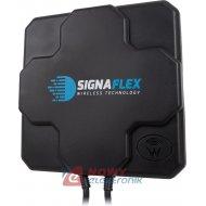 Antena GSM/LTE4G 3G DUAL 22dbi  MIMO +2x kabel 5m FME,X-Cross