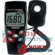 Miernik Luksomierz TM202 0.01   20000 Tenmars (ze świadectwem)