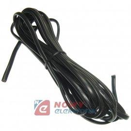 Przewód OMYP 300V 2*0,75 4.5m Kabel Czarny Płaski H03VVH2-F (odcinek)