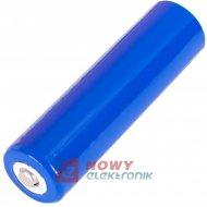 Akumulator 18650 PCM 2900mAh 3,7V LI-JON PCM  65mmX18mm