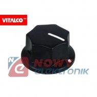 Gałka typ 11A  Vitalco radiowa uniwersalna na potencjometr
