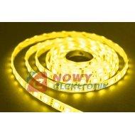 Taśma LED SMD5050 żółty (1m) (60LED/1m) bez silikonu 12V