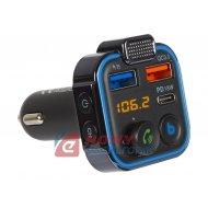 Transmiter FM BLOW Bluetooth 5.0 +USB QC3.0  USB-C PD 18W