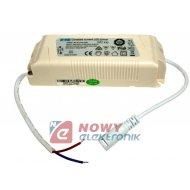 Zasilacz ZI LED prąd. 950mA 40W aktywny PF DC28-42V LED Driver