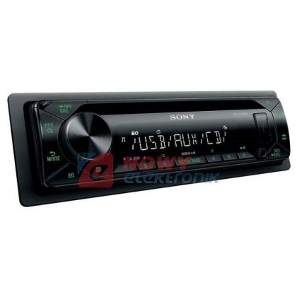 Radio samoch.SONY CDX-G1302U CD+USB GREEN