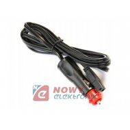 Kabel zasilający lodówki 2m z adapterem DIN/EURO z bezp.10A, przewód