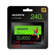 """Dysk SSD SATA3 2.5""""240GB SU650  7mm"""