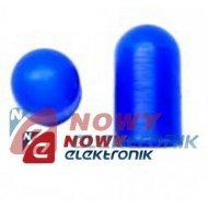 Kapturek żarówki Ø10mm BLUE