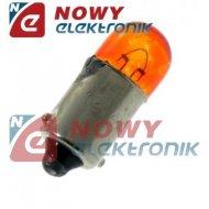 Żarówka 12V 4W UV pomarańczowa BA9S