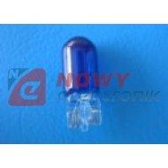 Żarówka R10 12V 5W blue  całosz.