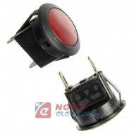 Oprawa z żarówką mini czerwona średnia QBB 2-0437