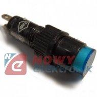 Oprawa z żarówką mini 12V nieb. QBB 2-0402