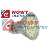 Żarówka LED 24/GU10 4W  b.zimna 230V 24LED SMD 5050