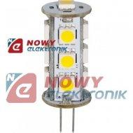 Żarówka LED G4 12V 2,6WLIGHTECH biały ciepły 3000K