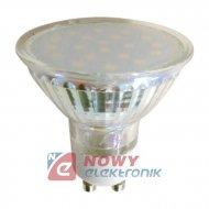 Żarówka LED 18/GU10 3,5W b.ciep. 230V SMD2835 TRIS 3000K/250lm