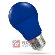 Żarówka E27 LED 5W BLUE SPECTRUM niebieska